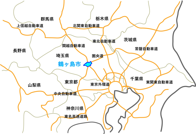 『鶴ヶ島地図(関東)HP掲載用』の画像