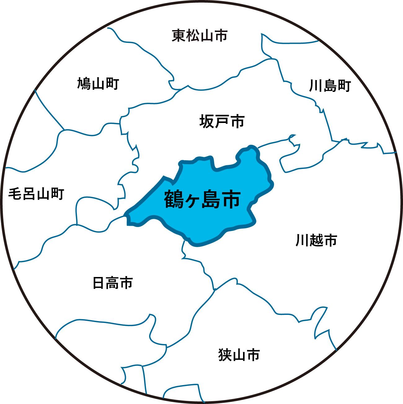 『鶴ヶ島地図(近隣)HP掲載用』の画像