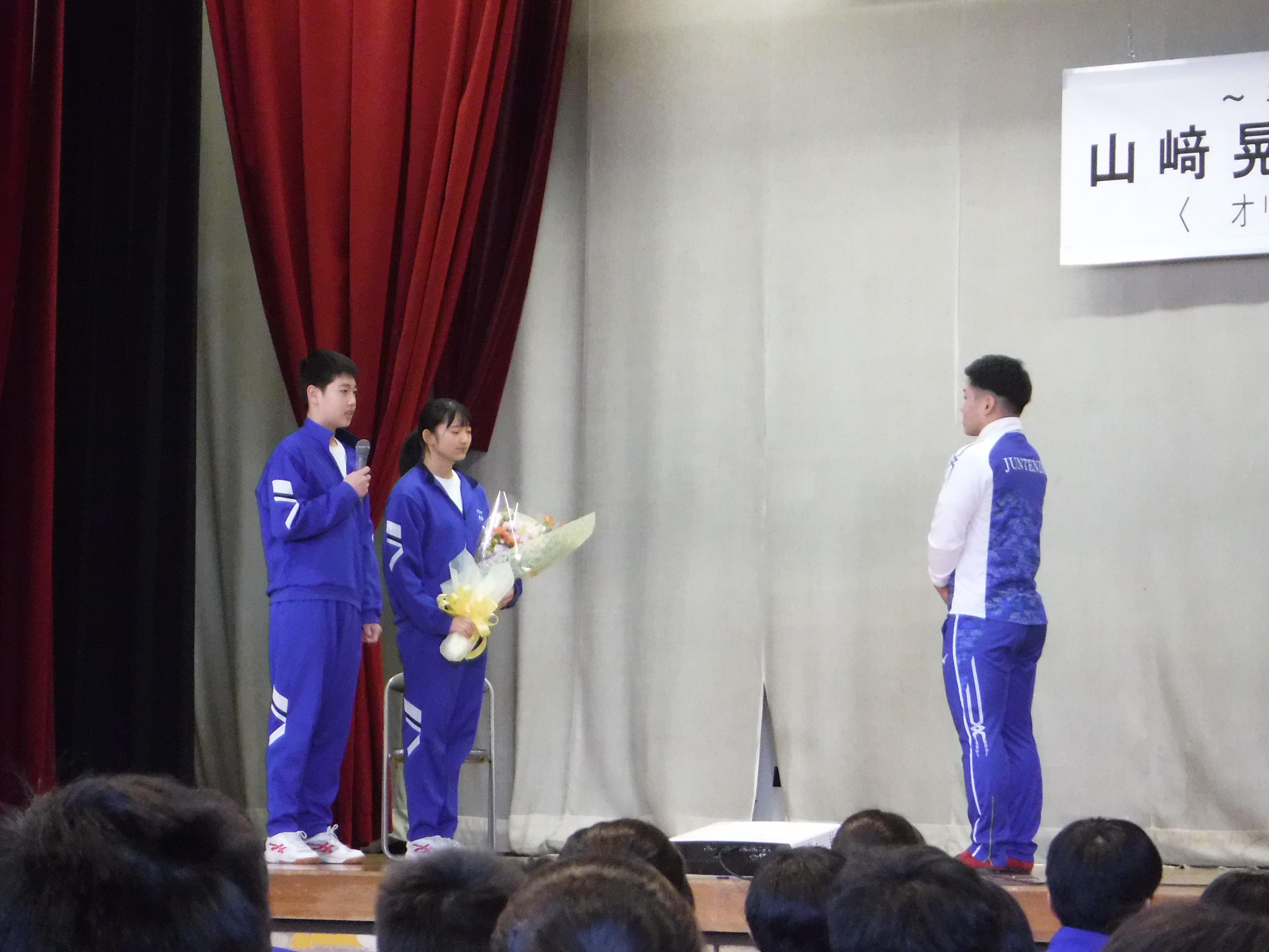 『山﨑選手講演会7』の画像