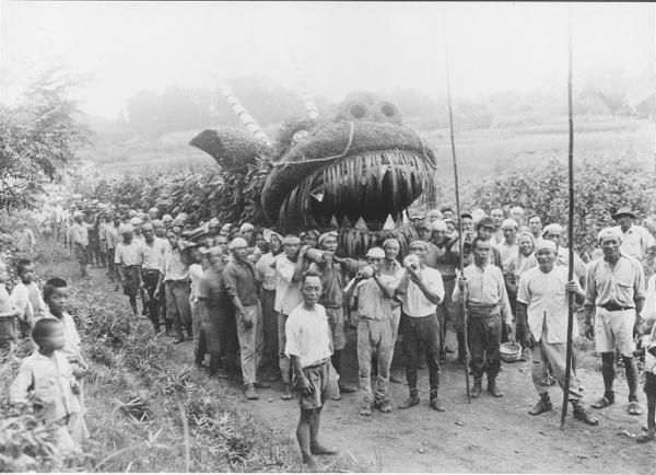 『昭和20年代の脚折雨乞』の画像