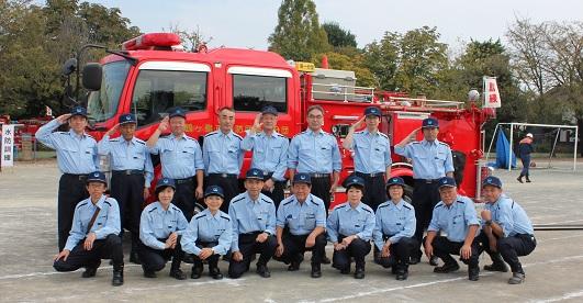 『第30回鶴ヶ島市防災訓練』の画像